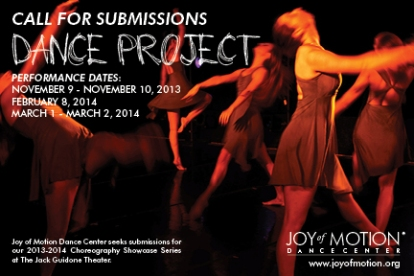 Dance Project Call for Submissions
