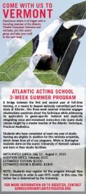 Atlantic Acting Vermont Program